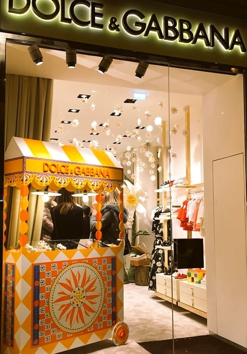 Dolce & Gabbana Kid's Store in Florence